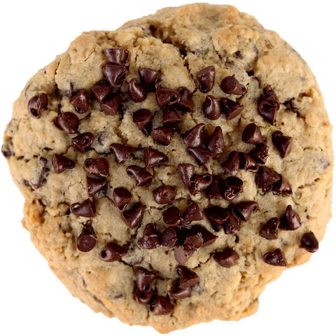 Crave Cookie large oatmeal chocolate chip cookie